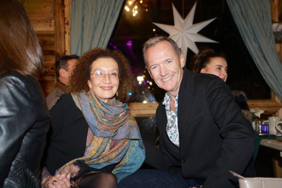Schauspielerin Konstanze Breitebner und Ossi Schellmann, SUMMERSTAGE. (Foto Powersisters)