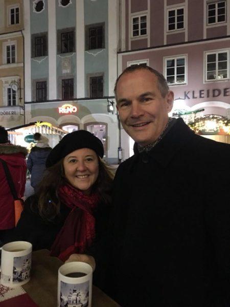 Gozde Eren und ihr Mann genießen es sehr, gemeinsam in Wien zu leben, einer Stadt, die sie sehr lieben. (Foto privat)