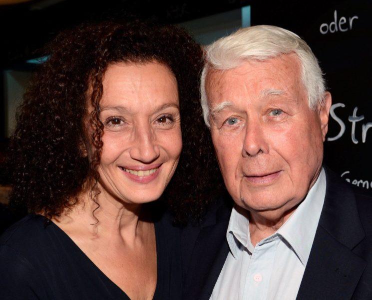 """Konstanze Breitebner und Peter Weck bei der Premiere """"Madame Strauß"""" im MUTH Wien. (Foto privat)"""