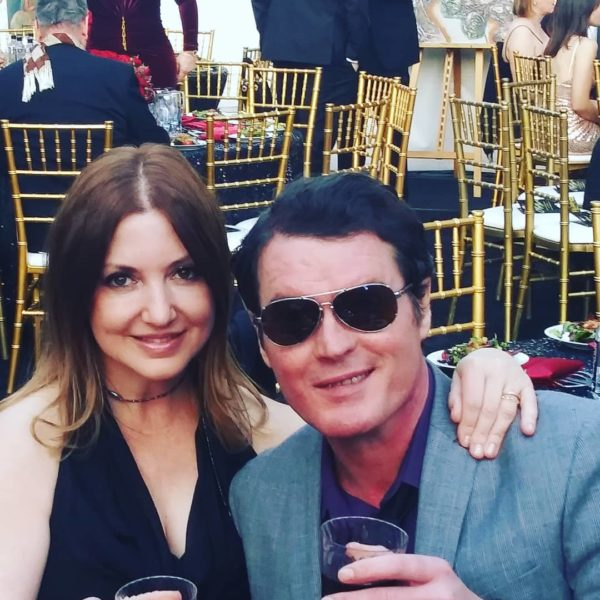 Nicole Muj attended with her husband Ion the Cinemoi Oscar Party 2019. (Photo private)