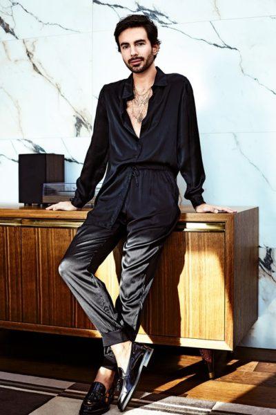 Mio Paternoss als Model für die Novemberausgabe 2019 des missMagazins. (Foto Philipp Jelenksa/missMagazin)