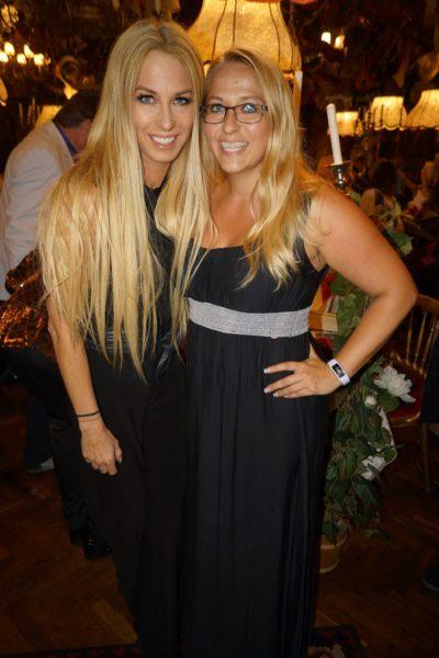 Yvonne Rueff mit ihrer engen Freundin Birgit Stefanie. (Foto privat)