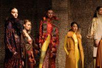 Fashion Show des Designers Dawid Tomaszewski während der Berlin Fashion Week. (Photo by Andreas Rentz/Getty Images)