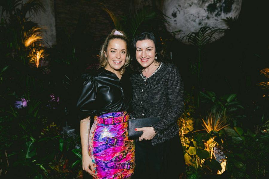 Designerin Marina Hoermanseder lud zu ihrer wieder großartigen Show während der Berliner Fashion Week ein. (Foto Paul Aidan Perry)