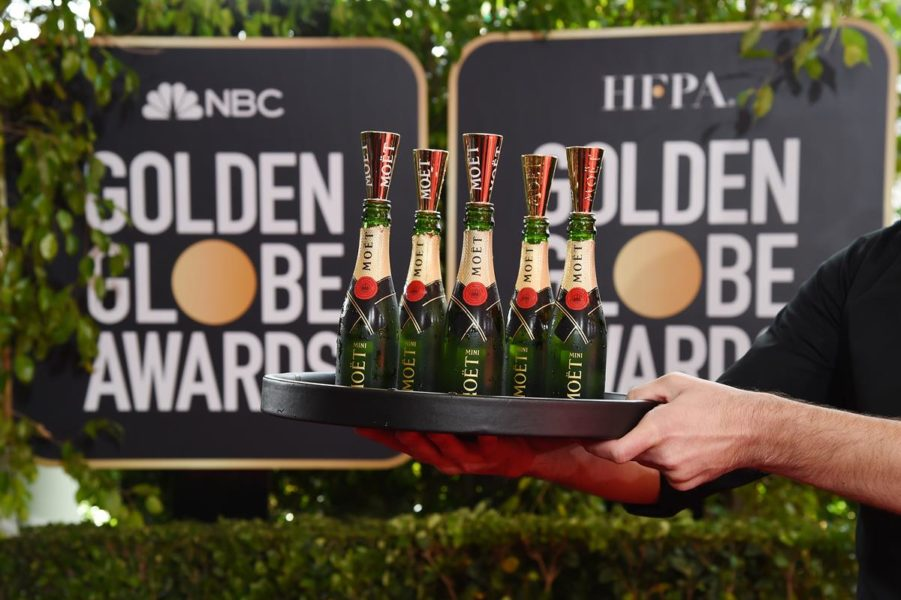 Moët & Chandon at the 77th Golden Globes. (Foto Moët & Chandon)