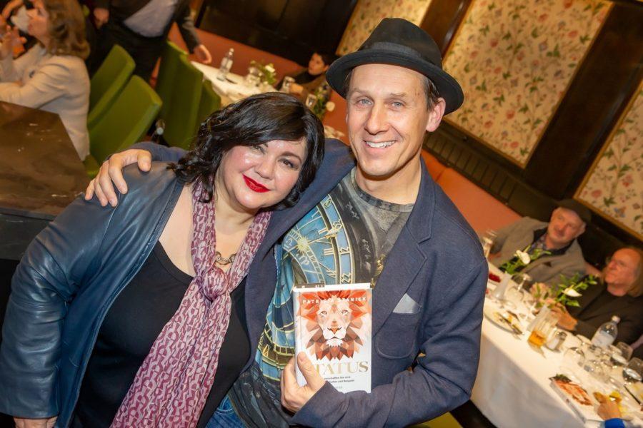 Patricia Staniek mit Schauspieler Martin Oberhauser (Foto Christian Mikes)