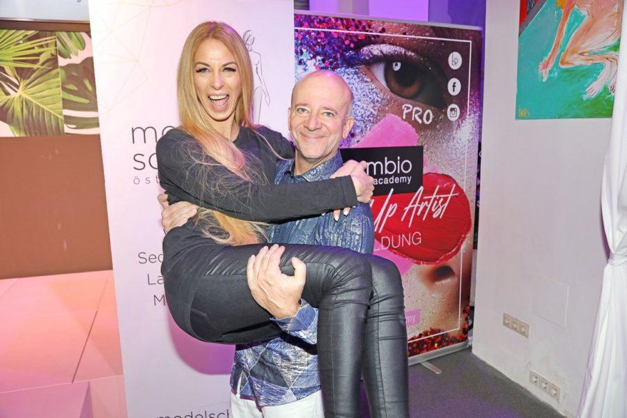 Tanz-Expertin Yvonne Rueff und Entertainer Andy Lee Lang kennen sich in der Show-Welt gut aus. (Foto Philipp Enders)