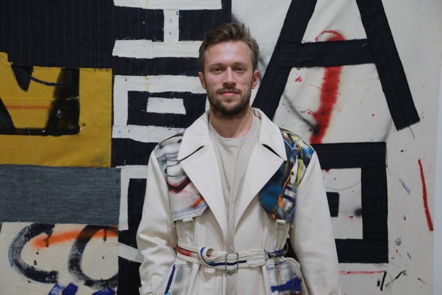 Der talentierte Künstler Alessandro Painsi hatte im Jänner seine erste Solo-Ausstellung in Los Angeles. (Photo Eric Minh Swenson)