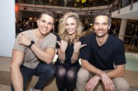 BRANDBOXX & STYLEUP YOUR LIFE! Fashion Night: Models Philipp Knefz, Patricia Kaiser und Michael Gstöttner. (Foto Moni Fellner)