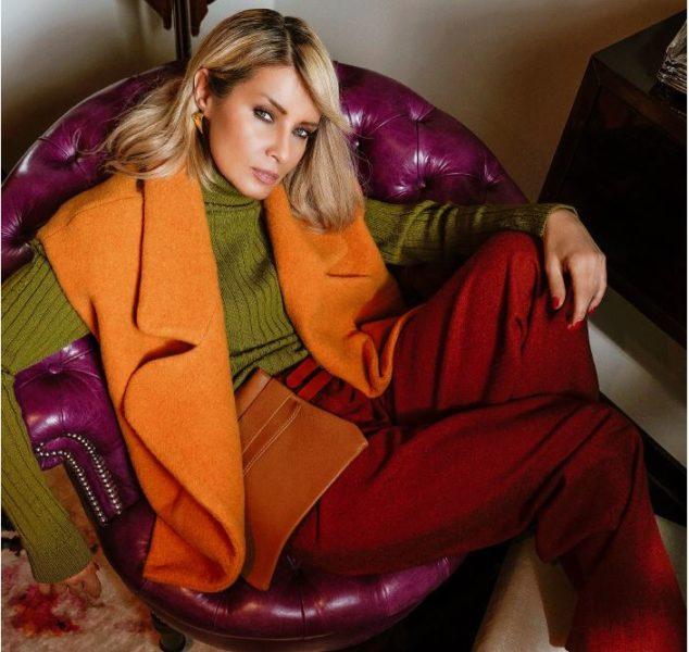 """Fashion-Influencer Gitta Banko brachte gemeinsam mit dem deutschen Label boscana die """"boscana X Gitta Banko"""" Herbst Winter 2020 Kollektion heraus. (Foto Isa Foltin)"""