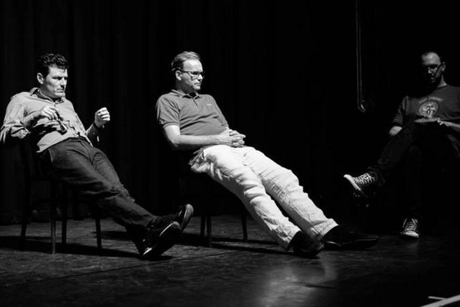 Manuel Rubey mit Kabarettpartner Thomas Stipsits. (Foto Reinhard Sudy)