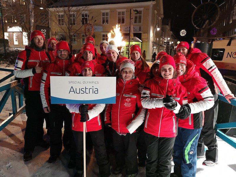 Sportdirektor-Stellvertreter Thomas Gruber, Head of Delegation der österreichischen Mannschaft, war sehr stolz auf alle Teilnehmer. (Foto GEPA pictures/Special Olympics)