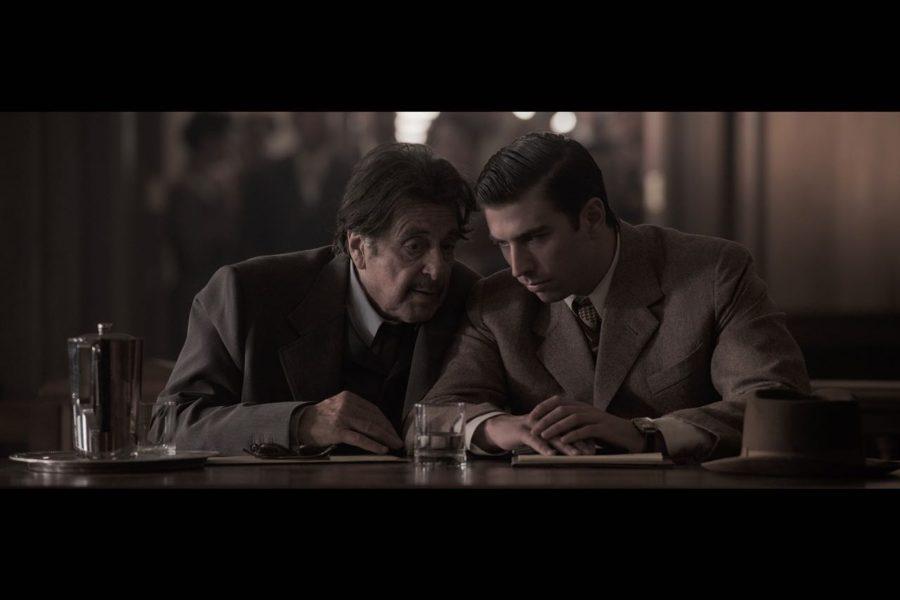"""Sehr beeindruckt hat Swen Temmel Al Pacino, an dessen Seite er in """"Axis Sally"""" drehte. (Foto Axis Sally/facebook)"""