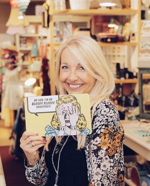 Uschi Fellner: Eine erfolgreiche Unternehmerin mit viel Sinn für Humor. (Foto privat)