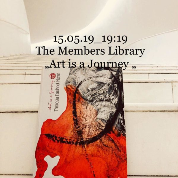 "Der Katalog ""Art is a Journey"" der Künstlerin Theresia Fauland-Nerat. (Foto Theresia F.N.)"