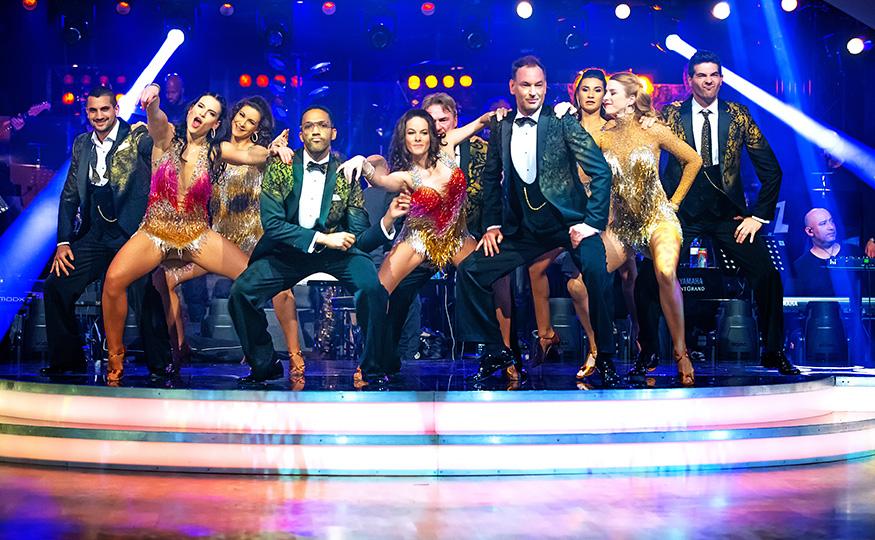 Dancing Stars 2020: Gruppentanz der Herren zu Uptown Funk. (Foto ORF)