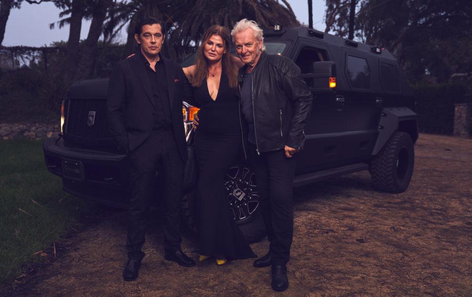 """""""Sweet Toxins"""" heißt das neuste 'Baby' von Lea und Peter Wolf-Millesi, eine Serie mit 8 Folgen. Hier mit Schauspieler Werner Schreyer. (Foto privat)"""