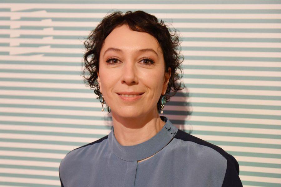 Schauspielerin Ursula Strauss bei einer Diagonale-Eröffnung (Foto Diagonale / Pelekanos)