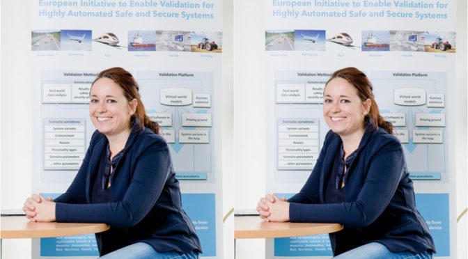 Andrea Leitner beschäftigt sich mit 'Automated Driving Testing'