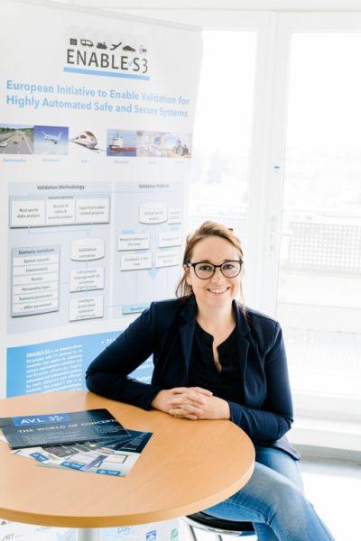Dipl.-Ing. Dr. Andrea Leitner ist bei der AVL List GmbHim Bereich Instrumentation und Testsystems tätig.(Foto Mias Photoart)