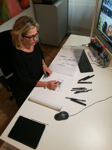 Heidi Kriz hat sich als Architektin auf die Planung von Geschäften spezialisiert. In ihrer Arbeits-Bio finden sich mehr als 150 Shop-Umsetzungen für internationale Konzerne in Europa. (Foto KRIZH)