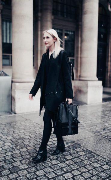 Katharina Purkarthofer zeigte ihre Taschenkollektion auch auf der Pariser Fashion Week. (Foto privat)