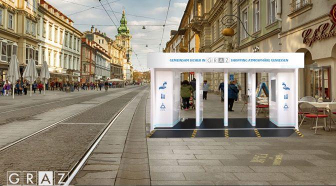 Brand Embassy holt Desinfektions-Container nach Österreich
