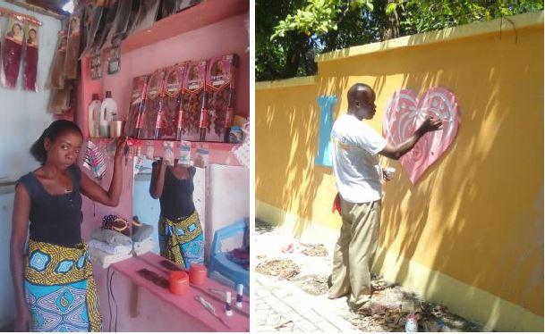 Auch Joseph wurde von MAMA AFRIKA erfolgreich unterstützt. (Foto MAMA AFRIKA)