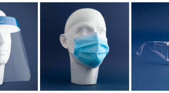 MPG Healthcare bietet Schutzmasken, –brillen und -visiere