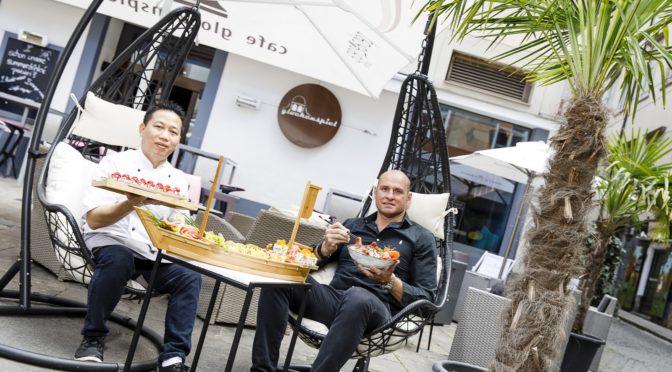 Sushi-Meister Mr. Bin jetzt in der Café-Bar Glockenspiel