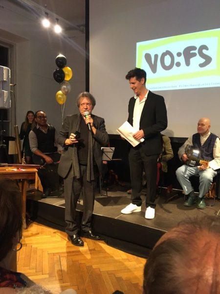 Thomas Clemens trat die Nachfolge von Helmut Berger im Vorstand des VÖFS an - hier bei der 25-Jahr-Feier des VÖFS. (Foto Jonathan Salzer)
