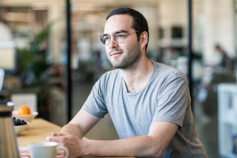 unuwurde2013 von Pascal Blum (Foto), Mathieu Caudal und Elias Atahi gegründet und ist Marktführer im deutschsprachigen E-Scooter-Segment. (Foto unu)
