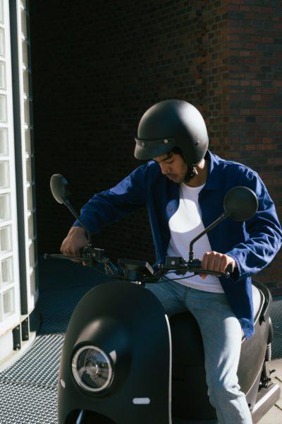 Der unu Scooter ist zu kaufen, zu mieten und zu sharen. (Foto unu)