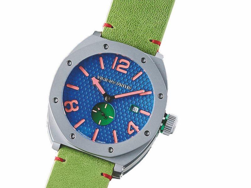 Eye-CatchingDesigns und Farbvarianten, höchste Qualität und Tragekomfort zeichnen die Luxus-Uhrenkollektion von VIRIBUS UNITIS aus. (Foto VIRIBUS UNITIS)