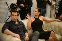 "New Film ""I, WOMAN"": with Hana Noka and John Charles Nagy. (Photo Pinkmoon Global Production)"