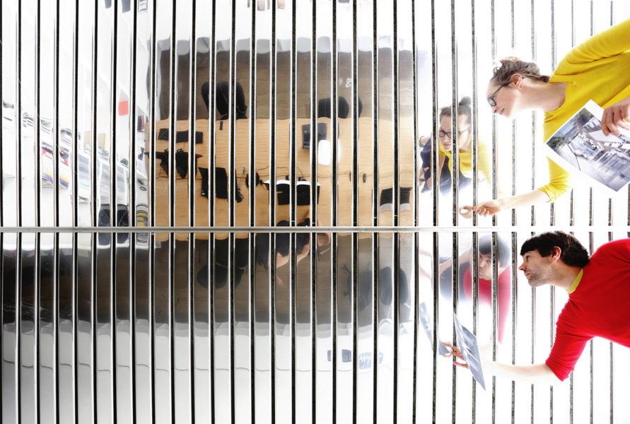 """""""Wir freuen uns, dass bald ein neues Designobjekt für die Gäste des Andaz Hotels über den Dächern von Wien strahlen wird"""", so die Gewinner des Design-Wettbewerbs - das Designstudio Lucy.D in Zusammenarbeit mit dem Architekturbüro inFABric aus Paris. (Foto inFABric)"""