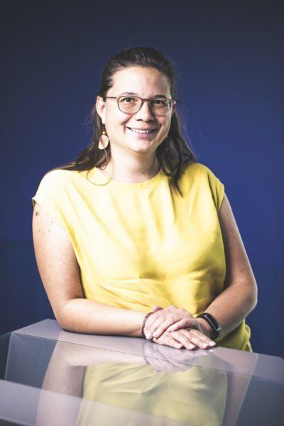 Dr. techn. Margarethe Traxler ist Gruppenleiterin des Bereiches Materialentwicklung,Forschung & Entwicklung bei Boehlerit in Kapfenberg.(Foto Thomas Luef)