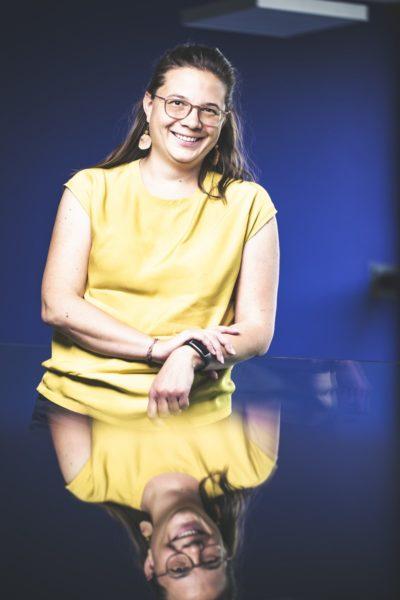 """Beruflicher Erfolg besteht für Margarethe Traxler darin, wenn etwas funktioniert und einsetzbar ist, also einenMehrwert für die Firma bringt. """"Das zu wissen bereitet mireine große Zufriedenheit."""" (Foto Thomas Luef)"""