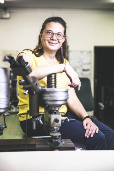 """Margarethe Traxler: """"Ich liebe es einfach, Neues auszuprobieren und experimentell zu erforschen."""" (Foto Thomas Luef)"""