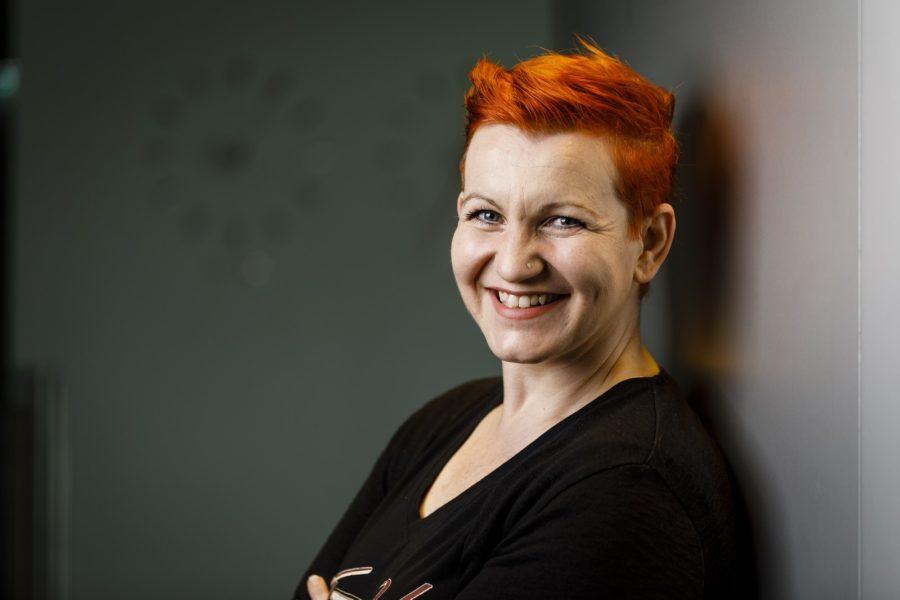 Martina Schwinger arbeitet als Head of Software Engineering bei derKNAPP AG. (Foto Thomas Luef)
