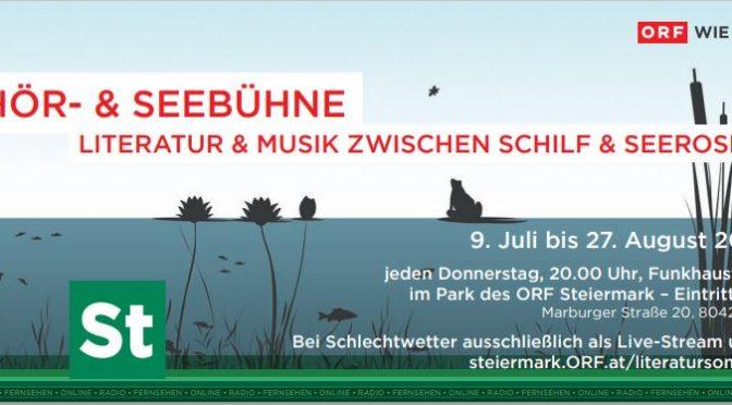 """""""Hör- & Seebühne 2020"""" im Grazer ORF-Park"""