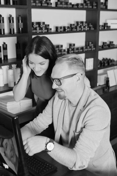 Peter und Sabrina Köfer führen jetzt das VINOBLE Day Spa. Beide sind schon seit vielen Jahren in den Day Spa und die Weiterentwicklung der Produkte von VINOBLE Cosmetics eingebunden. (Foto VINOBLE)