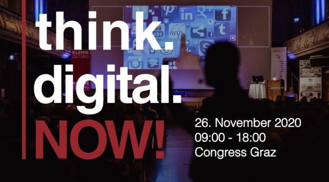 think.digital.NOW! – Congress für zeitgemäßes Online-Marketing und digitalen Geschäftserfolg