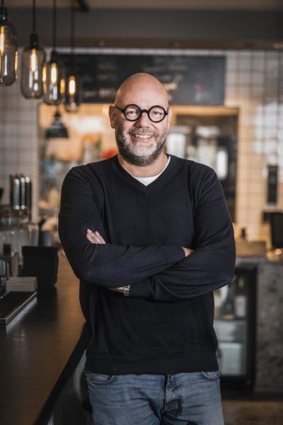Alexander Meissl, MEISSL ARCHITECTS, gestalten das neue RestaurantKURO.MORI für Sternekoch Steffen Disch in Freiburg. (Foto David Johansson)