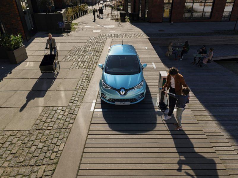 Das neue komfortable und wirtschaftliche Elektroauto Renault ZOE (Foto Renault Communications)