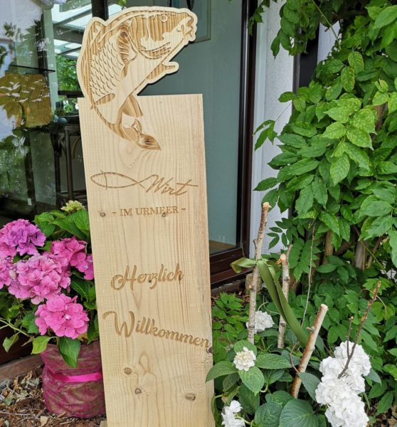 """Fischwirt im Urmeer"" (Foto Hedi Grager)"