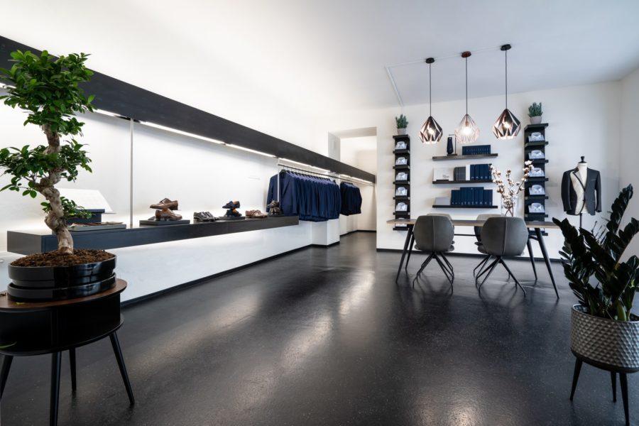 """Im Mai 2018 eröffneten Christina Poharec und Marco Zeilinger ihr elegantes Geschäft """"Piekfein"""" in der Grazer Bürgergasse. (Foto kainz-pictures.at)"""