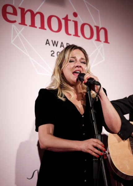 EMOTION.award 2020: Annett Louisan begeisterte als Live-Act. (Photo by Franziska Krug/Getty Images for Emotion Award)