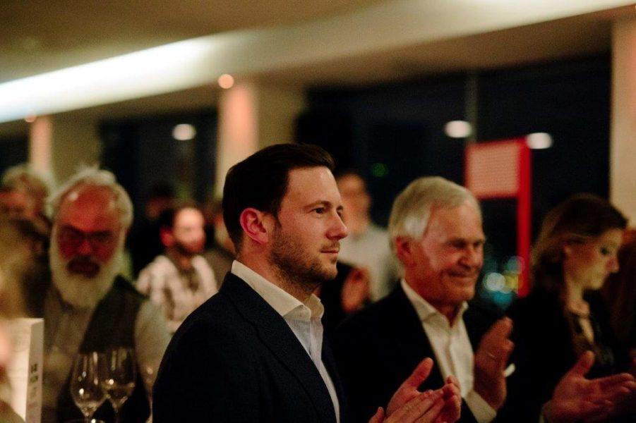 Die erfolgreichen Produzenten Jakob und Dieter Pochlatko. (Foto Diagonale / Sebastian Reiser)