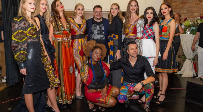 """Internationale Models begeisterten bei """"La Noche de los modelos"""" in Wien"""